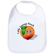 Little Georgia Peach Bib