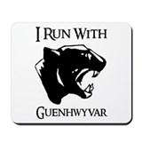I Run With Guenhwyvar Mousepad