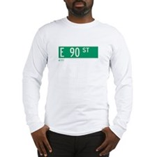 90th Street in NY Long Sleeve T-Shirt