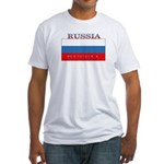 Russia Russian Flag New Design Fitted T-Shirt