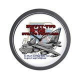 B-52 Strato Fortress Wall Clock