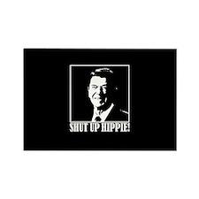"Ronald Reagan says ""SHUT UP HIPPIE!"" Rectangle Mag"