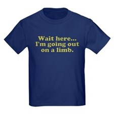 Sarcastic and Funny Kids Navy T-Shirt