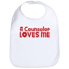 A Counselor Loves Me Bib