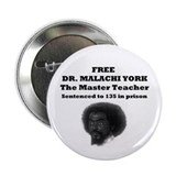 "Free Dr. Malachi York 2.25"" Button (100 pack)"
