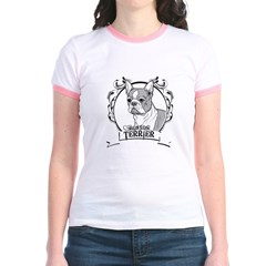 Boston Terrier Jr. Ringer T-Shirt