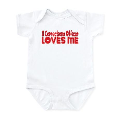 A Corrections Officer Loves Me Infant Bodysuit