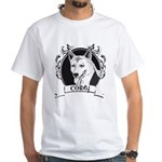 Corgi White T-Shirt