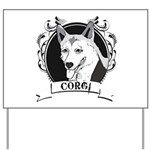 Corgi Yard Sign
