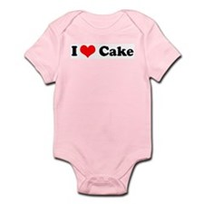 I Love Cake Infant Creeper