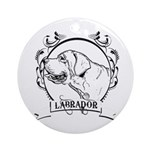 Labrador Retriever Ornament (Round)