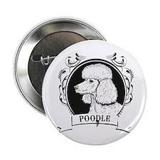 "Poodle 2.25"" Button (100 pack)"