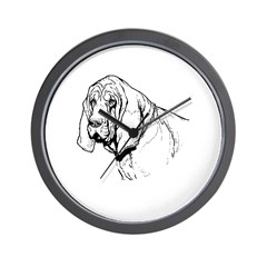 Bloodhound Wall Clock
