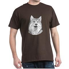 Alaskan Malamute Dark T-Shirt