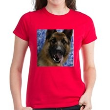 Cute German shepherd dog men Tee
