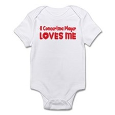 A Concertina Player Loves Me Infant Bodysuit
