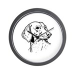 Dachsund Wall Clock