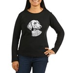Dachsund Women's Long Sleeve Dark T-Shirt
