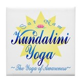 Kundalini Yoga Tile Coaster