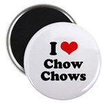 I Love Chow Chows Magnet