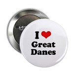 I Love Great Danes 2.25