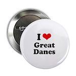 I Love Great Danes 2.25