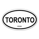 Toronto Oval Decal