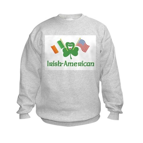 Irish American Kids Sweatshirt