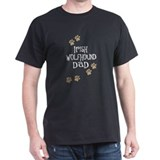 Irish Wolfhound Dad  T-Shirt