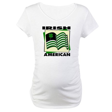 Irish American Maternity T-Shirt