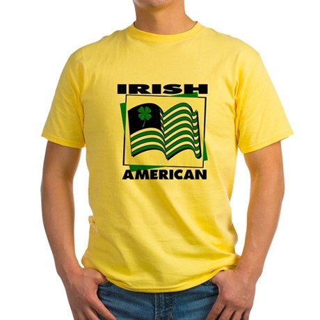 Irish American Yellow T-Shirt