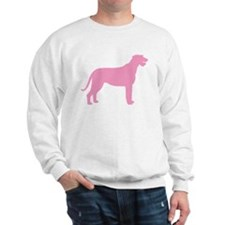 Pink Irish Wolfhound Sweatshirt