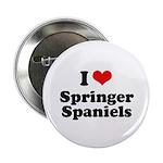 I Love Springer Spaniels 2.25