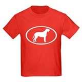 Irish Wolfhound Oval T