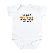World's Hottest Inves.. (B) Infant Bodysuit