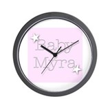 Cool Myra Wall Clock