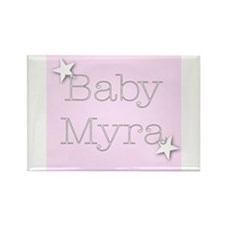 Cute Myra Rectangle Magnet (100 pack)