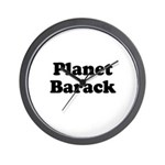 Planet Barack Wall Clock