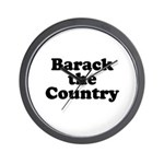 Barack the country Wall Clock