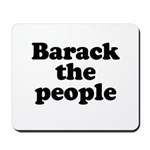 Barack the People Mousepad