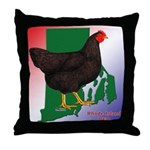 Rhode Island State Bird Throw Pillow
