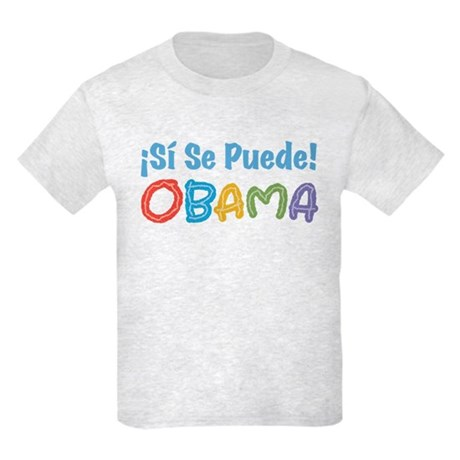 �Si Se Puede! Obama Kids Light T-Shirt