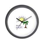 TROPICAL LOOK Wall Clock