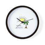 TROPICAL LOOK Wall Clock