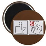 Press Button Get Bacon Magnet