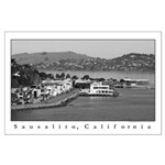 north bay sausalito, california Large Poster
