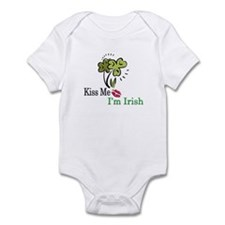 Kiss Me, I'm Irish Infant Bodysuit