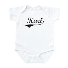 Karl (vintage) Infant Bodysuit
