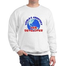 World's Greatest Web d.. (E) Sweatshirt