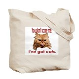 Red Persian Cat Tote Bag